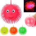 Игрушка для детей, супер мигающие шарики, сжимаемые мячи для снятия стресса, игрушка, мячи, светильник для снятия стресса для Chuid Fun, Прямая по...