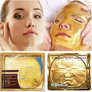 Image 1 - 10 Stuks Huidverzorging Vel Maskers Gouden Masker Anti Rimpel Whitening Gezichtsmasker Anti Aging Hydraterende Collageen Gezichtsmasker Promotionele