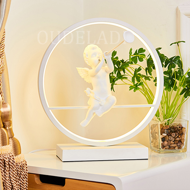 led moderno lampada decorativa casal romantico quente 03