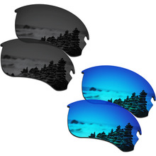 746fffc185cf9 SmartVLT 2 Pairs Polarized Sunglasses Replacement Lenses for Oakley Si  Speed Jacket