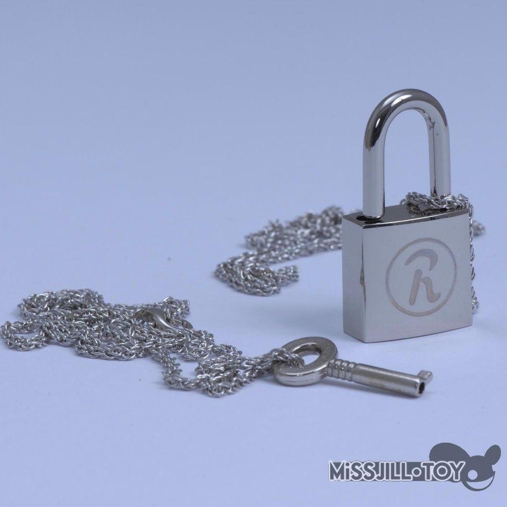 Conjunto de 2 unidades de colgante de metal de aleación para cosplay, con llave y cerradura de Anime Ai Yazawa NANA, accesorios para cosplay