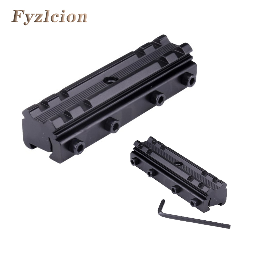 Fyzlcion Tail 11-20mm Railing Picatinny Scope Mount Railway Hook Converter