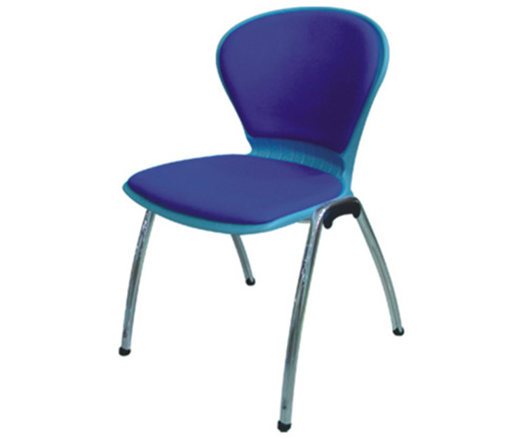 padded stack chair commercial plastic conference chair ...