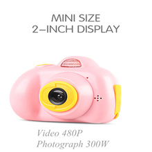 Buy Mini Kids Camera Multi-language Fixed Lens Life Record Electronic Camera kids Toys Educational Birthday Baby Gift directly from merchant!