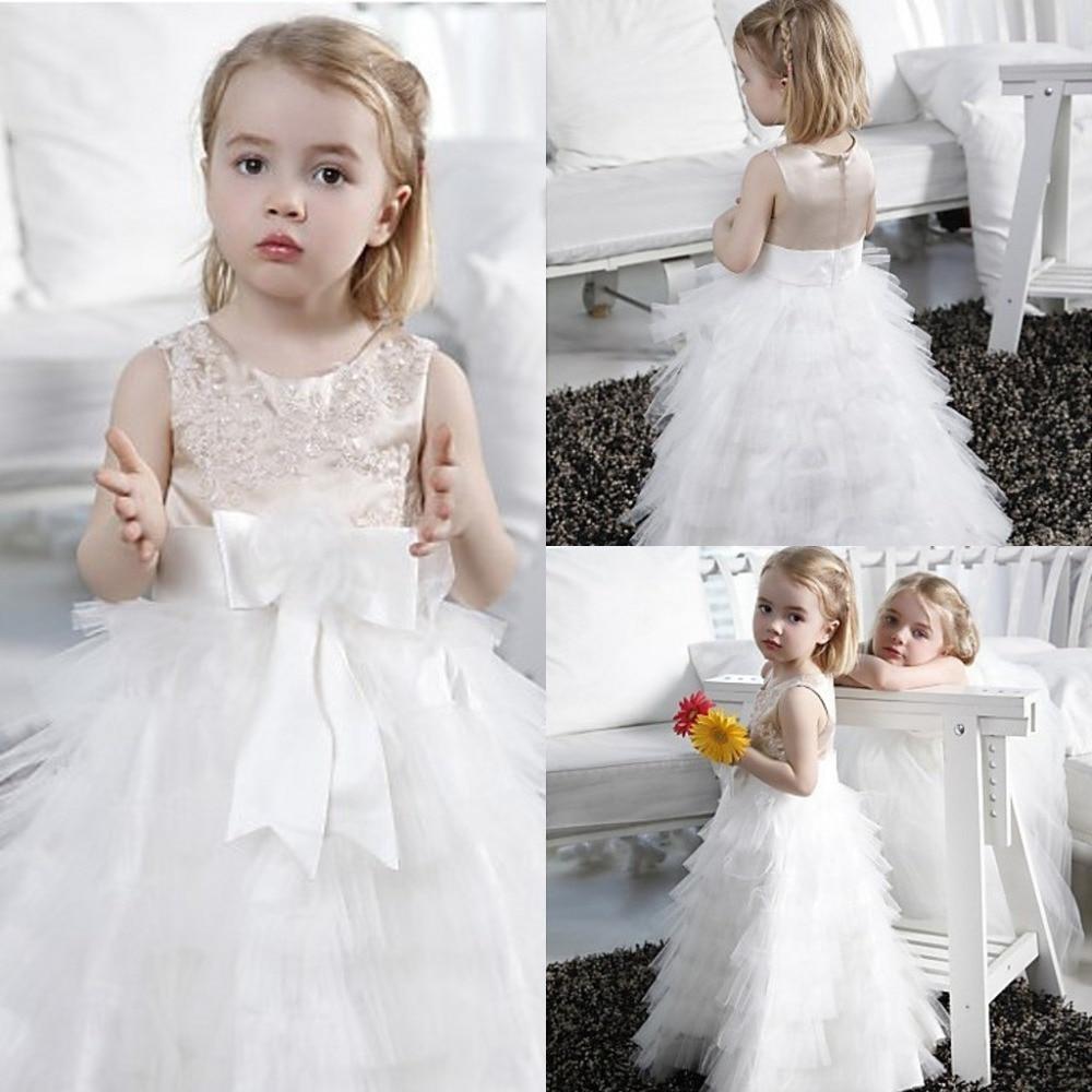 Flower Girl Dresses for Weddings Little Girls Pageant Dresses Floor ...