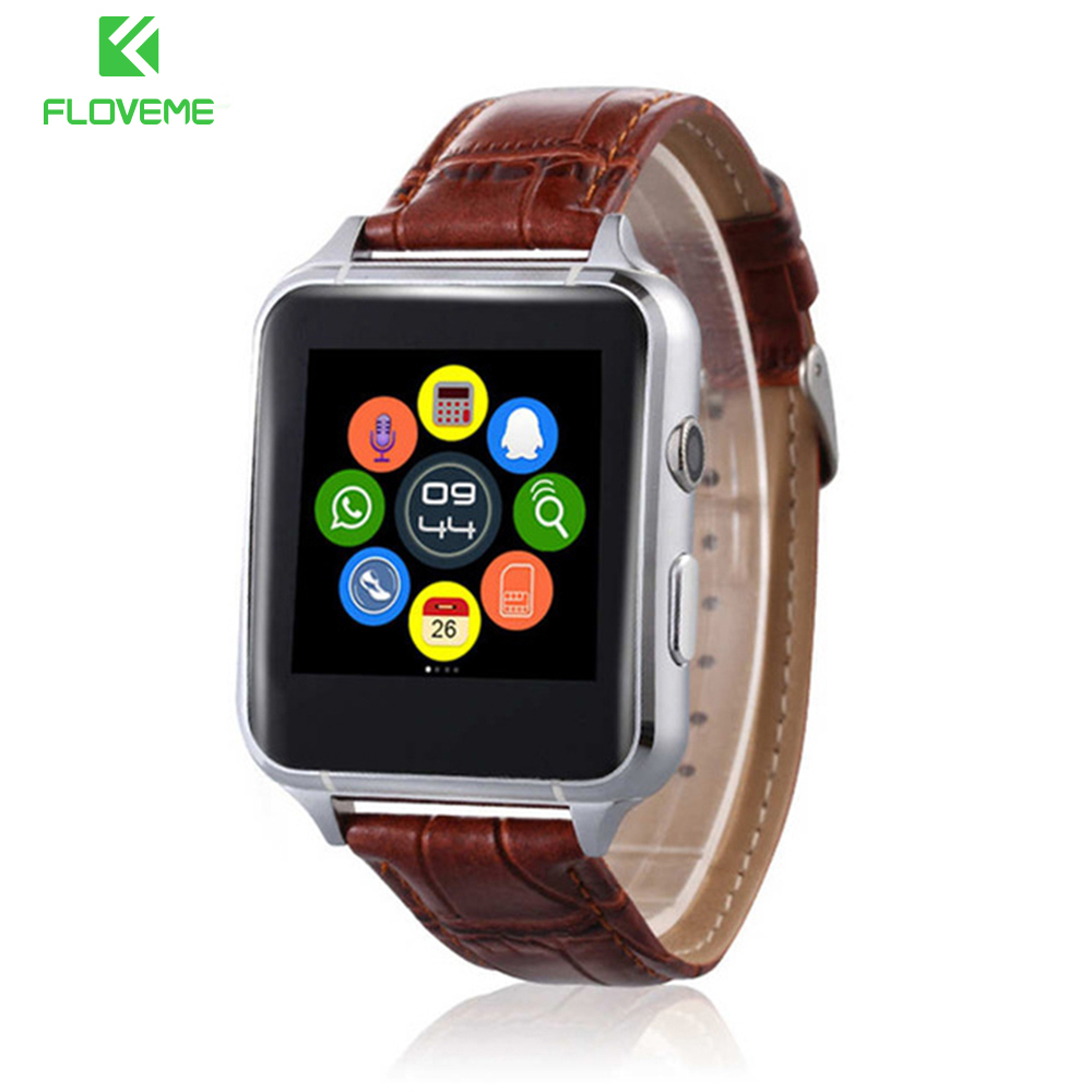 FLOVEME Pulsera Reloj Inteligente Android Bluetooth 3.0 Pasómetro Mensaje Recordatorio Deporte Tarjeta SIM Smartwatch Para Xiaomi Huawei