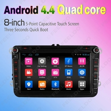 8inch Android 4.4.4 Quad Core Car DVD GPS Radio For Skoda Octavia/Seat/Altea/Leon #FD-4560