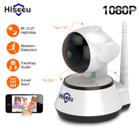 Hiseeu 1080P IP Camera 2MP Wi Fi Wireless Security cctv Camera WiFi home Security Camera IP Baby Monitor Two way Audio P2P