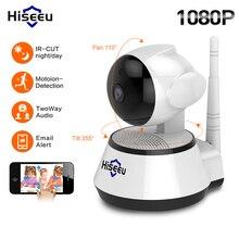 HiseP EU 1080 P/720 P ip-камера 2MP Wi-Fi беспроводная камера видеонаблюдения WiFi домашняя камера безопасности IP детский монитор двухсторонний аудио P2P