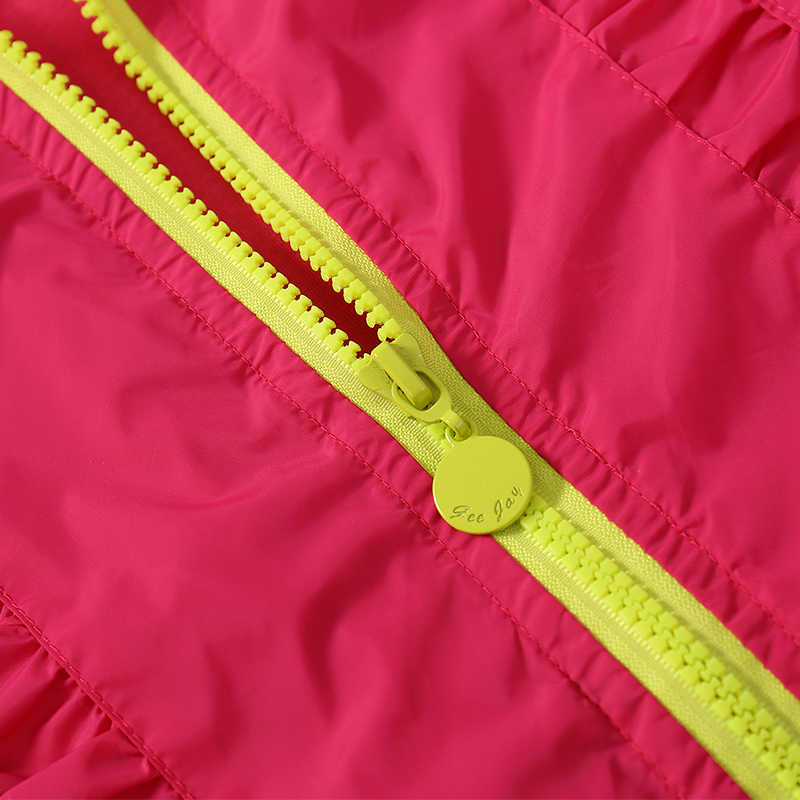 Phibee 女の子ウインドブレーカーソフトシェル Jcaket ハイキングキャンプアウトドアスポーツ防風フード付きトップス服
