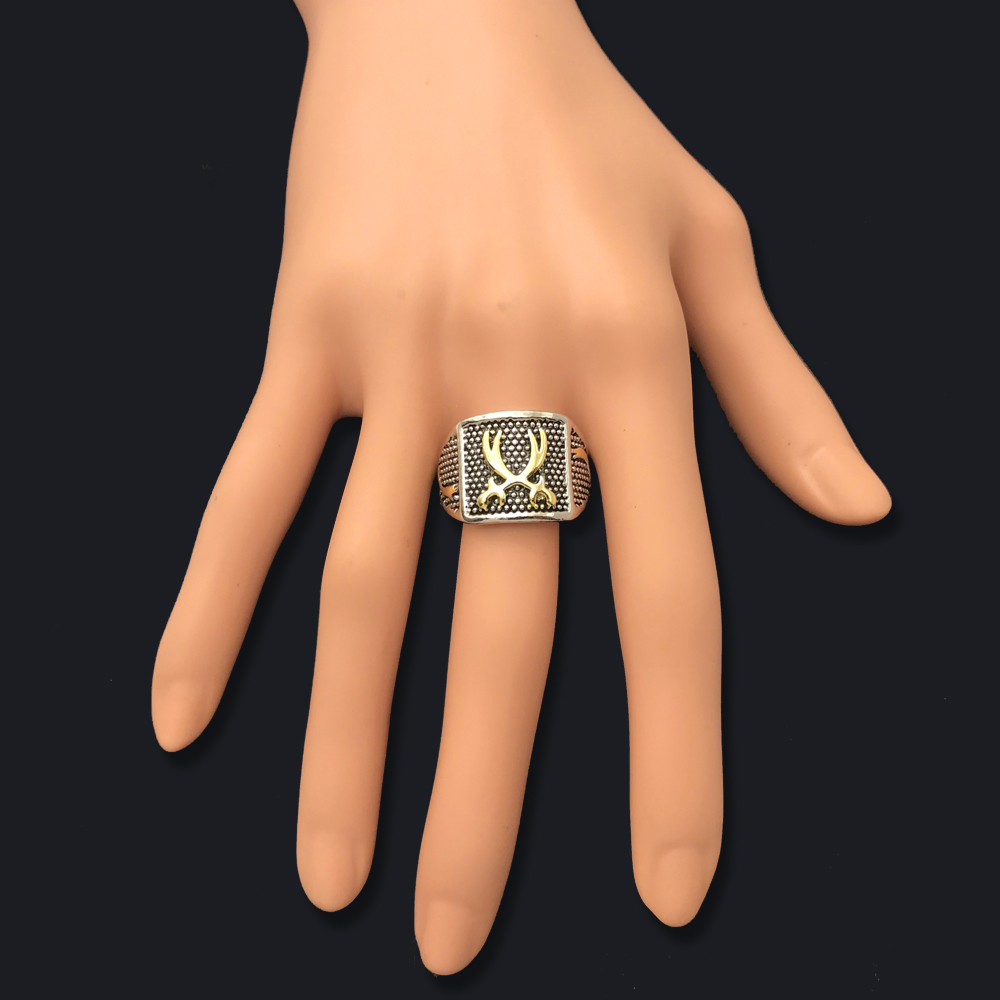 SAYYID New Design Statement Jewelry Arab Muslim Islamic Knife Ring for Men 39 s Fashion Retro Ancient Silver Ring in Rings from Jewelry amp Accessories