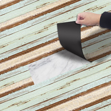 New PVC Self-adhesive Floor Glue-free Cement Wall Stickers Renovation Home Waterproof Mat Decoration