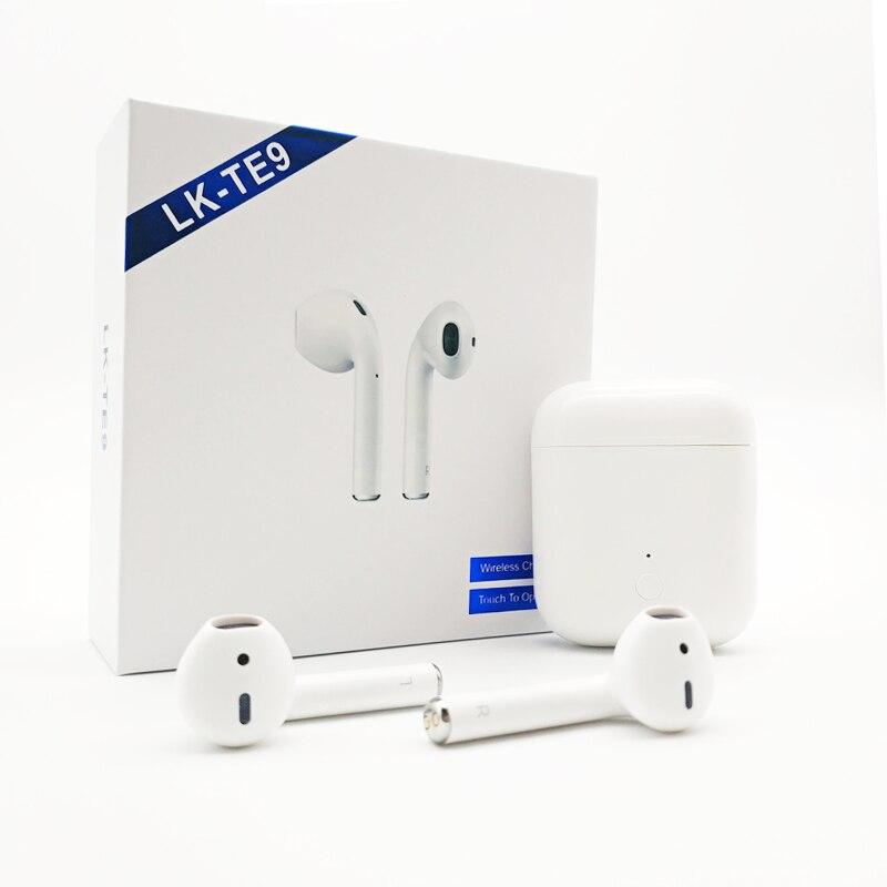 CALETOP LK-TE9 LK TE9 Type tactile casque sans fil Bluetooth appels binauraux écouteurs intelligents sans fil charge Bluetooth 5.0