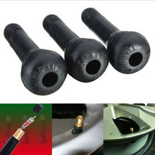 10PCS NEW TR414 RUBBER & ZINC SNAP IN TUBELESS CAR TYRE VALVE + DUST CAP Valvula del neumatico valve à pneus