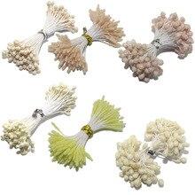 CCINEE цвета слоновой кости/бежевый цвет цветок тычинки розы 1 мм/мм 3 мм/5 мм для украшения торта/ремесла/нейлон цветок DIY подарок интимные аксессуары