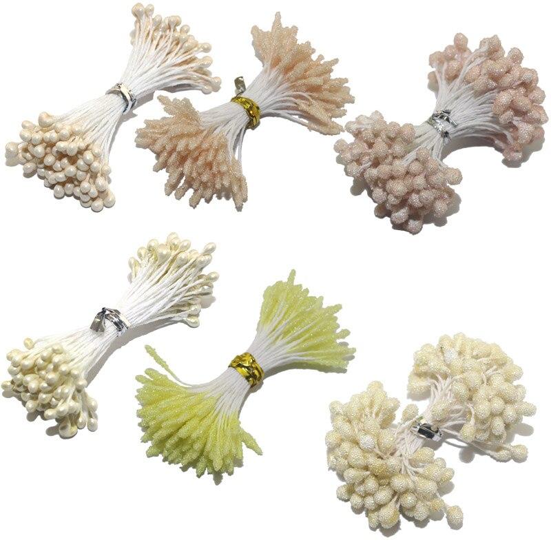 CCINEE Ivory/Beige Color Flower Rose Stamen 1mm/3mm/5mm For Cake Decoration/Crafts/Nylon Flower DIY Gift Accessories