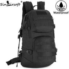 Outdoor Sport Shoulder Bag for Men 35L Cycling Backpack Camouflage Military Rucksack Travel Hiking Nylon Bag