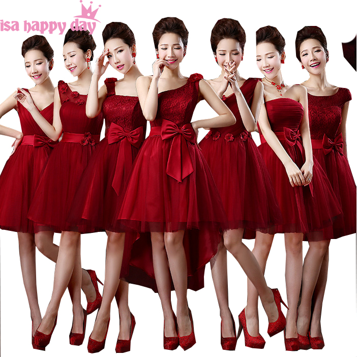 short sweetheart embellished   bridesmaid     dresses   burgundy strapless bridemaid   dress   for   bridesmaids   ball gown under $50 B2693