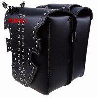 sacoche moto saddle bag for Vespa harley softail hyosung mochila moto backpack sportster givi alforjas para moto motorcycle bag