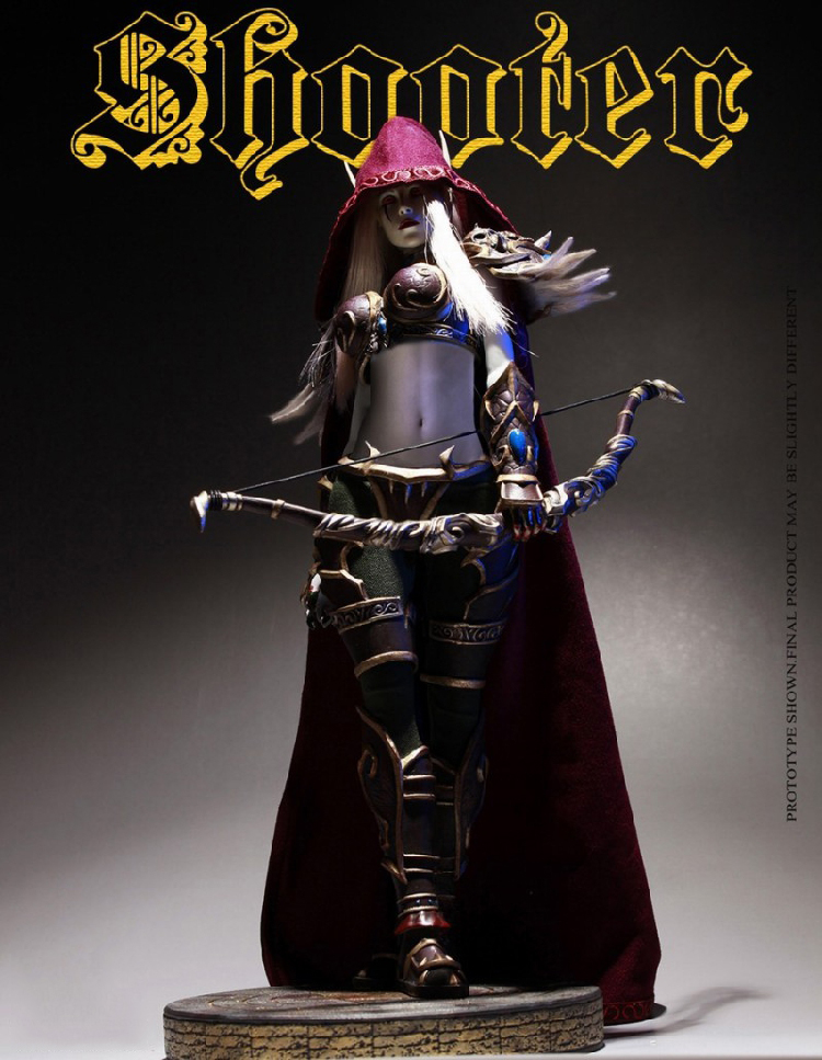 1/6 Scale Elf Archer Female Pose-able Action Figure ZH007 Collectible Model Toys new vertex dwell gold coin elf tiki 1 1 rpg cute game dragon s crown adventure result 16cm action figure toys