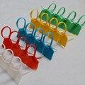 Envío de la alta calidad 3 * 120 mm cable de red de identificación marca signos bridas de Nylon correas etiqueta tie tag 100 unids
