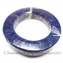 10m/lot RGB 4pin cable wire for LED strip, 22AWG 4 colors wire, Tinned copper extend