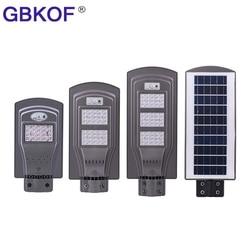 20W 40W 60W Solar Street Light With Motion Sensor Waterproof Led Solar Light Outdoor Led Street Lamp Lighting For Garden Yard