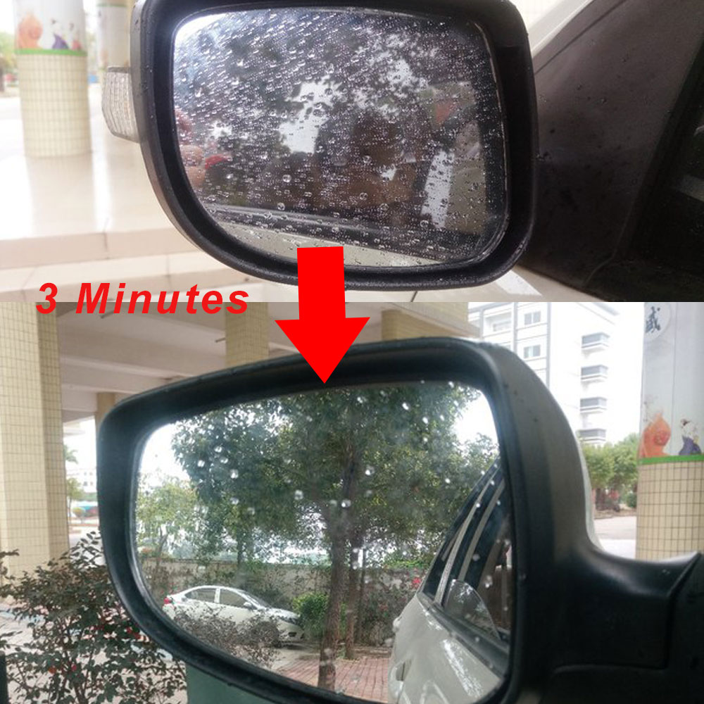 Image 5 - DC 12V Car mirror heater Electric Glass Heated Pad Mat Defoggers Remove Side Mirror  Heating Pad x 2pcs-in Mirror & Covers from Automobiles & Motorcycles