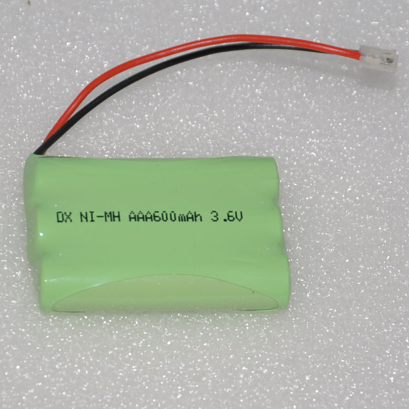 1-4PCS 3.6V AAA rechargeable battery pack 600mah 3A ni-mh nimh batteries NI MH cell for RC toys emergency light cordless phone