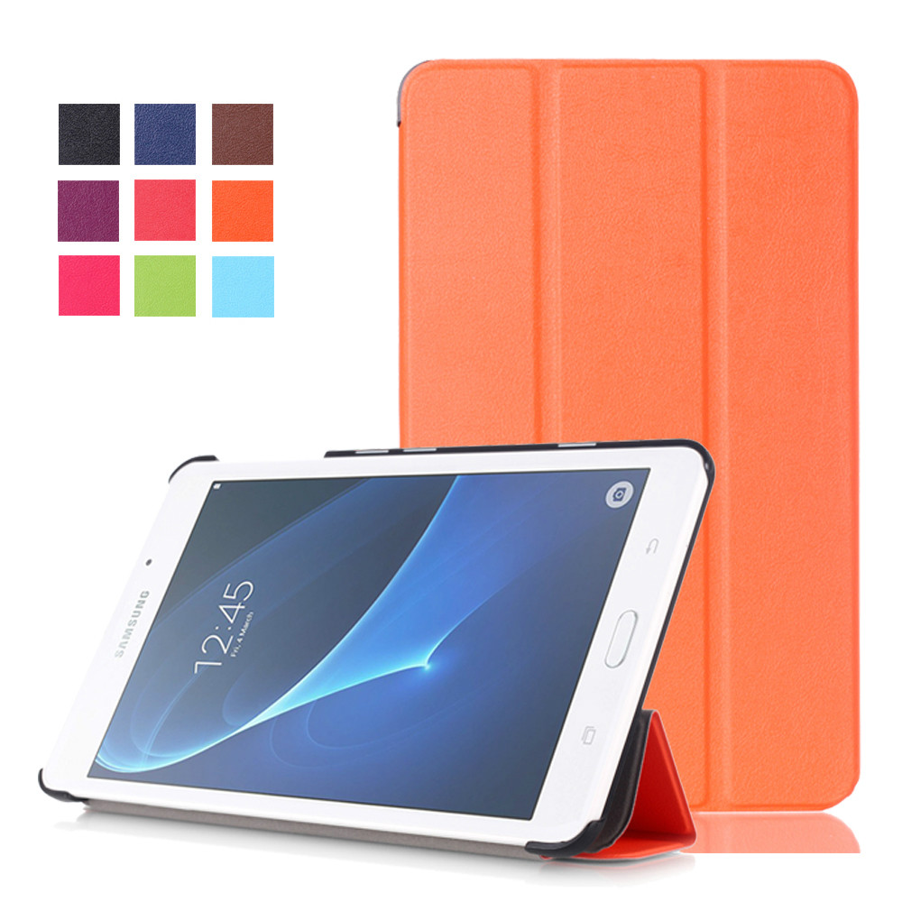 Magnet Flip Cover Leather case For Samsung Galaxy Tab A 6 A6 7.0 SM-T280N T280 T285 7  tablet Case smart cover Protective shell аксессуар чехол it baggage for samsung galaxy tab a 7 sm t285 sm t280 иск кожа white itssgta70 0