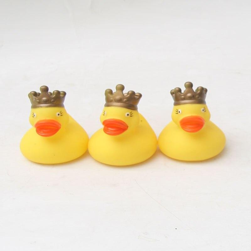3pcs king float Duck Baby Bath Toys Classic Bath Toys for children 2018