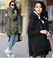 2015 Women Maternity Winter wool coat plus size XXXL long jacket clothes for pregnant coats outerwear korean fashion clothing