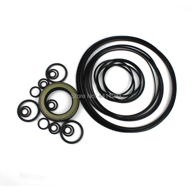 For Komatsu PC120 3 Hydraulic Pump Seal Repair Service Kit Excavator Oil Seals, 3 month warranty