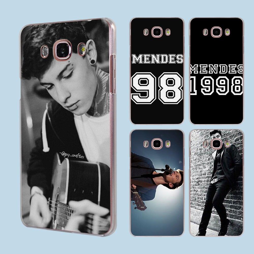 Shawn Mendes 98 transparent clear hard case cover for Samsung Galaxy J1 J2 J3 J5 J7Prime J7 J510 J710 2016