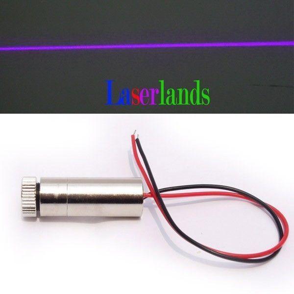 Industrial Focusable 20mW 405nm Blue Violet Laser Line Diode Module <font><b>Blu-Ray</b></font>