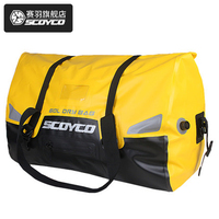 SCOYCO motorcycle Back seat bags Riding waterproof bag Motorcycle travel Carrier systems bag High capacity bag 60L