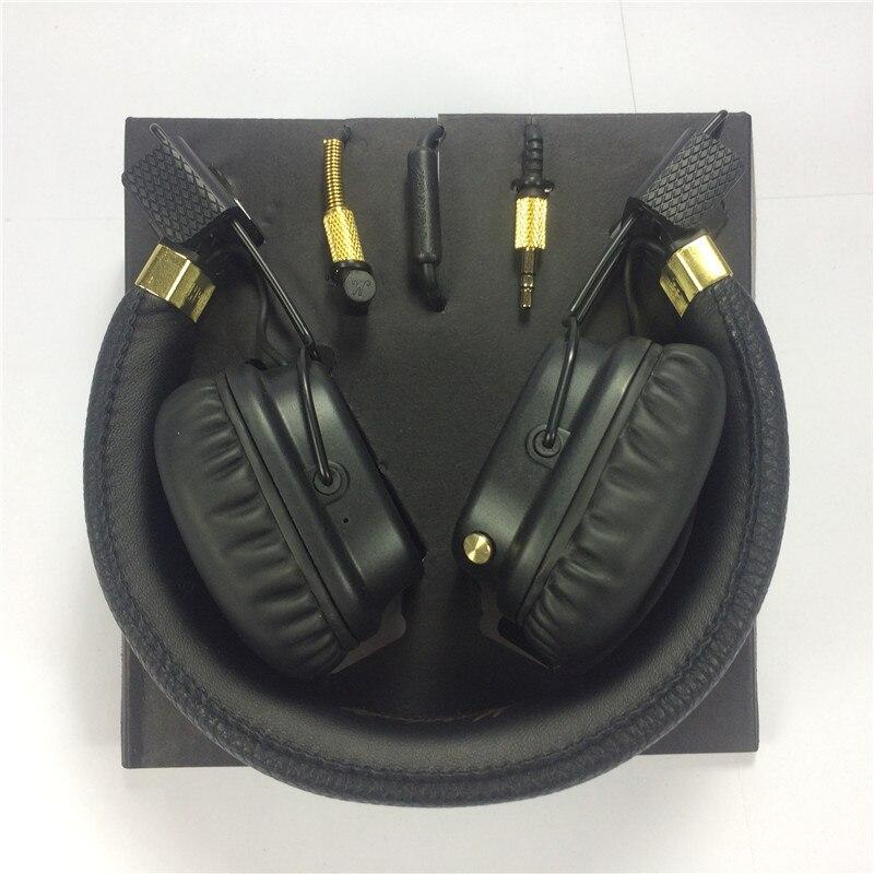 En stock! Major II casque filaire et sans fil 2nd principaux casques écouteurs pour marshall bonne qualité