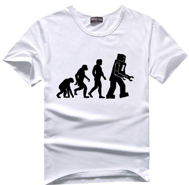 Human Evolution T Shirt Men Tshirt Geek T Shirt Tee Big Bang Theory Sheldon  Cooper-in T-Shirts from Men's Clothing & Accessories on Aliexpress.com |  Alibaba ...