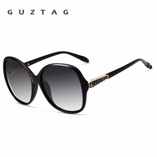 Guztag frauen Sonnenbrille TR90 Polarisierte UV400 Objektiv Luxus Damen Designer Eyeware Für Frauen Weibliche