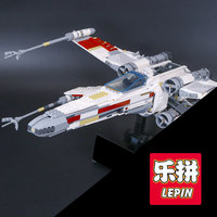 1586pcs Lepin 05039 Genuine New Star War Series The X Wing Red Five Starfighter Set Building
