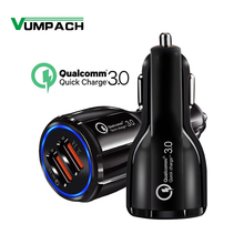 Quick Car Charger QC3.0 2.0 Fast Charging Cable For Samsung Xiaomi Huawei Sony Android Charge Adapter Data Tablet Car-Charger цена