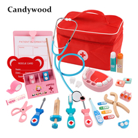 2019 NEW Kids Doctor Toys Role playing Games Doctor Sets Dentist Medicine Box Pretend Doctor Play Toys for Children Girls
