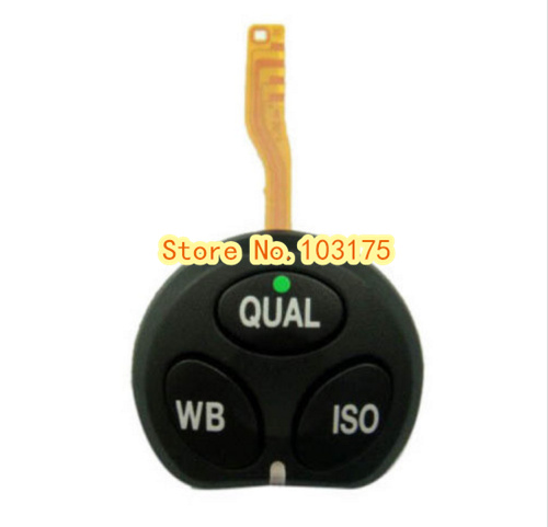 New Top Left QUAL WB ISO Button Key Replacement for Nikon