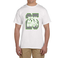 Richard Sherman You Mad Bro 100% cotton t shirts Mens gift T-shirts for Seattle fans 0215-7