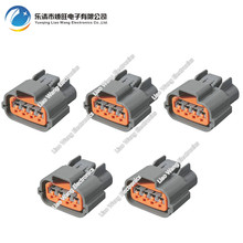 5 Sets 4 Pin Waterproof Motor Generator Plug Pump Inlet Pressure Sensor DJ70411Y-2.2-21 4P