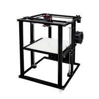 400 400 500 Большие размеры coreXY полусобранном DIY 3D принтер с подогревом кровать с электропитанием высокое качество сборки тарелка