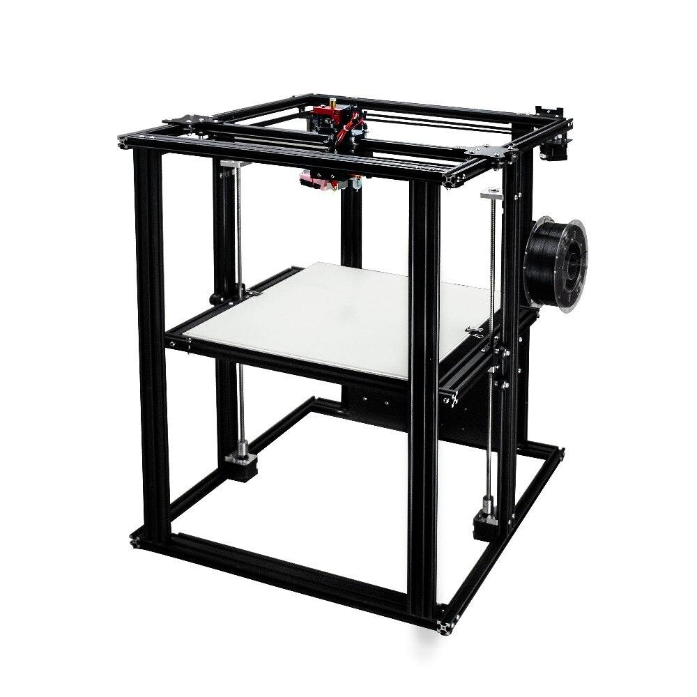 400-400-500 große größe coreXY semi-montiert DIY 3D drucker mit beheizten bett mit meanwell power liefern hohe qualität bauen platte