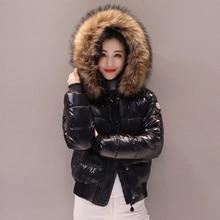 Fur coat Big fur collar cotton winter jacket women short student clothing thickening slim wild fashion down cotton jacket woman цены онлайн