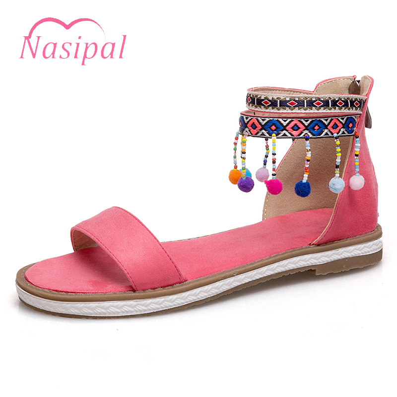 Nasipal Summer Womens Sandals Bohemia Gladiator Sandal Women Shoes Sandalias Mujer Ladies Shoe Fashion Female Footwear C466