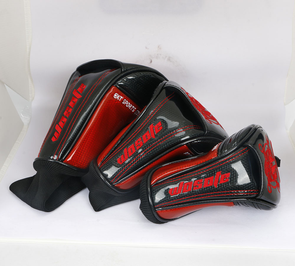 Image 5 - 2019 new high quality PU Leather red  Golf Driver headcover-in Golf Clubs from Sports & Entertainment